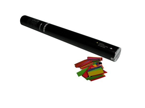 Dunkelblau Handheld-streamer Konfetti-handkanone 50cm Aggressiv Showtec